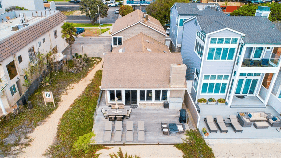 Aerial View Of 16661 S Pacific Ave